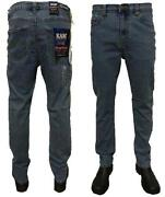 Mens High Rise Jeans