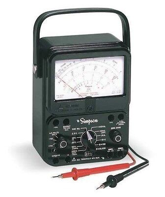 New Simpson Electric 260-8 Analog Multimeter - New
