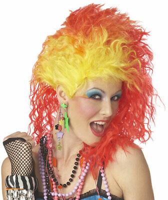 Cyndi Lauper Pop Singer Womens Halloween Costume Wig - Cyndi Lauper Halloween Costume
