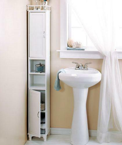 bathroom cabinet ideas storage bathroom storage cabinet ebay 15564