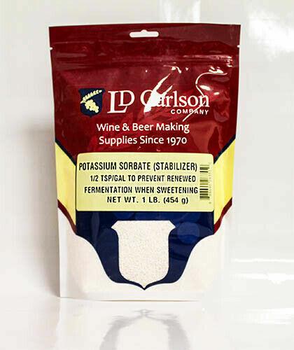 Potassium Sorbate, 1lb-Potassium Sorbate, Wine Stabilizer, Food Grade