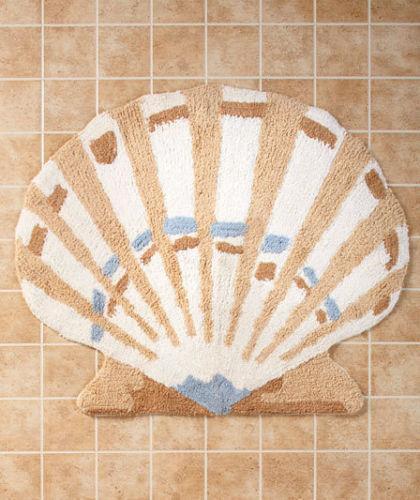 Shell Bath Rug