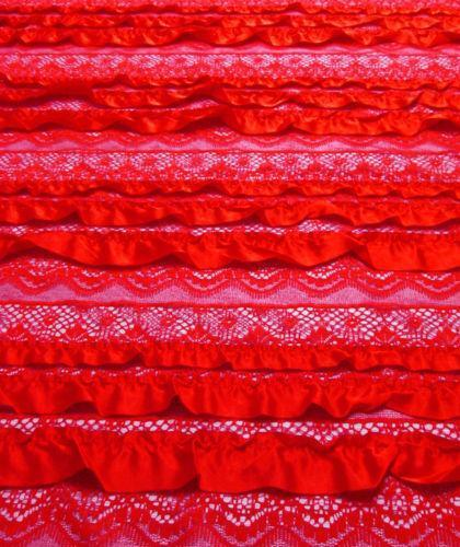 Crocheting On Fabric : Crochet Lace Fabric eBay