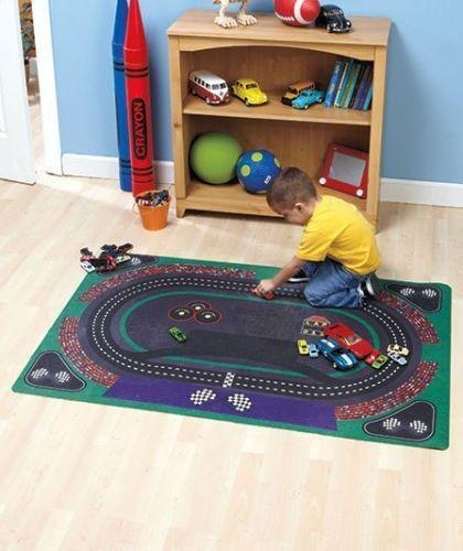 Race Track Mat