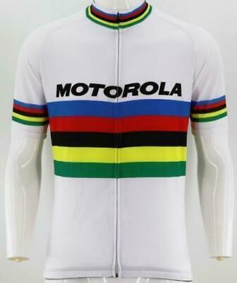 Brand New Team Motorola World Champion Cycling Jersey, Retro