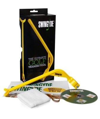 SWINGYDE Golf Training Aid Tool by JIM FLICK w/DVD------brand new