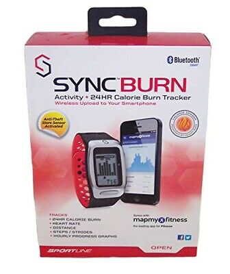 Sportline Syncburn Activity 24hr Calorie Burn Tracker - Keep Better