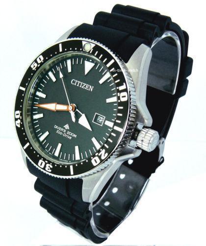 Citizen eco drive divers 200m ebay - Citizen titanium dive watch ...