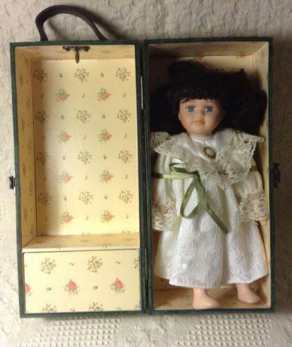Wooden Doll Case Ebay