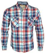 Mens Cotton Checked Shirt