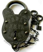 Unusual Padlock Locks Keys Ebay