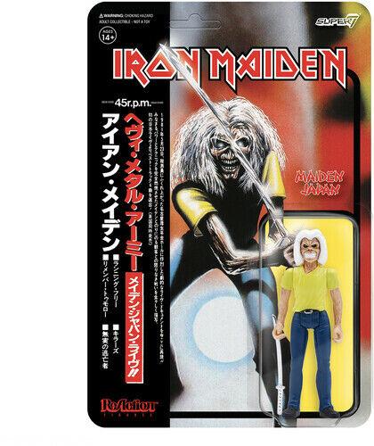 Super7 - Iron Maiden ReAction Figure - Maiden Japan [New Toy] Action Figure, F
