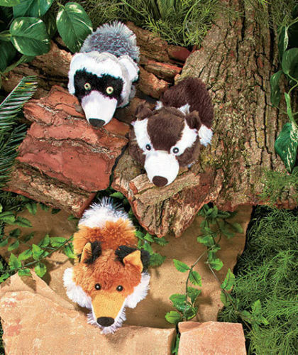 SET OF 3 WILDERNESS BALL TOYS DOG PET TOY DOG TOYS