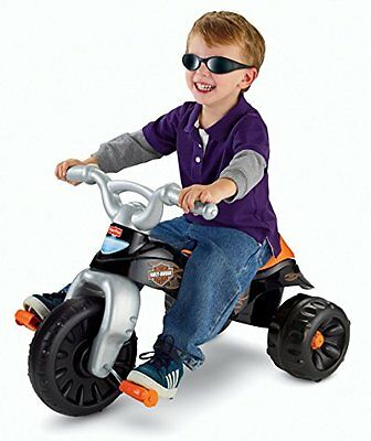 HARLEY DAVIDSON Tricycle RIDE ON Kid Learning Bike Kids Trike BABY TODDLER NEW