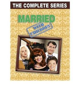DVD Married with Children The Complete Series New Aussie Seller 32 Disc Boxset