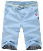 Mens Cropped Trousers