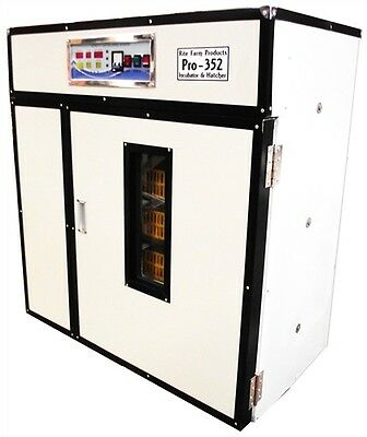 Rite Farm Products Pro-352 Cabinet Incubator Hatcher 352 Chicken Egg Capacity