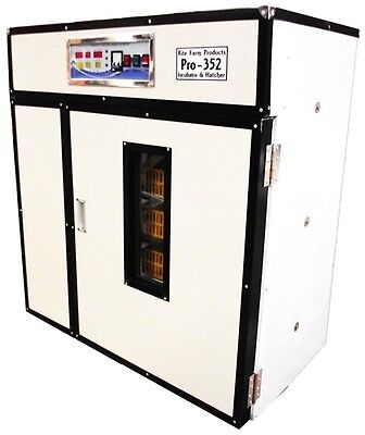 Rite Farm Products Pro-352 Cabinet Incubator Hatcher 352 Chicken Egg Capacity