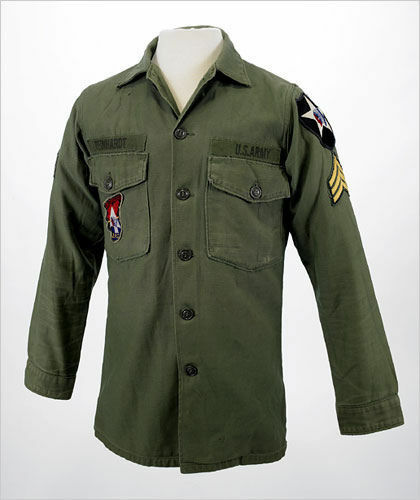 JOHN LENNON US MILITARY ARMY VINTAGE VIETNAM SHIRT JACKET THE BEATLES REVOLUTION