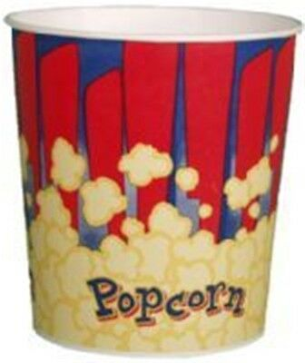 Popcorn Supplies - Popcorn Tub 130 Oz - Quantity Of 50 Tubs