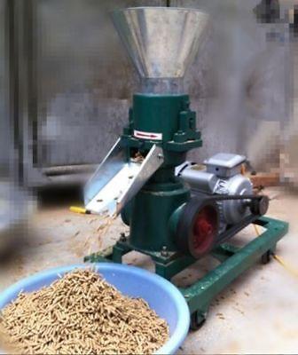 3kw 120 Model Pellet Mill Machine Feed Pellet Mill Machine With Motor U