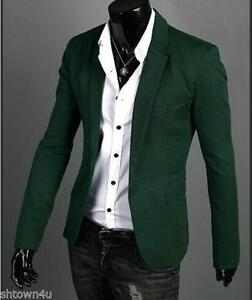 Mens Slim Fit Jacket | eBay