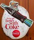 Vintage Coca Cola Metal Signs