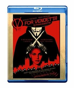 V For Vendetta Blu-Ray -Excellent condition