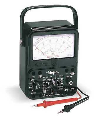 Simpson Electric 260-8p Analog Multimeter With Overload Protection