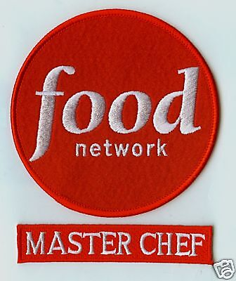 FOOD NETWORK MASTER CHEF FANCY DRESS PARTY HALLOWEEN COSTUME 2-PATCH - Food Network Halloween Costumes