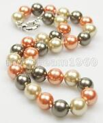 Multicolor Shell Pearl Necklace