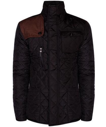 Mens Diamond Quilted Jacket | eBay : quilted jacket for mens - Adamdwight.com