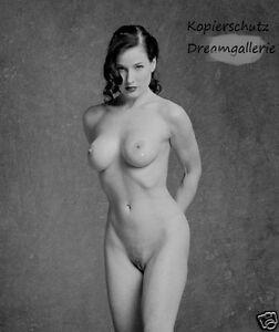 Handsigniert Signed Dita Von Teese Se Nude Erotik Akt Nackt Foto