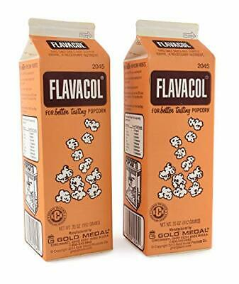 Flavacol Seasoning Popcorn Salt 35 Oz Gold Medal Products 2045 Pack Of 2