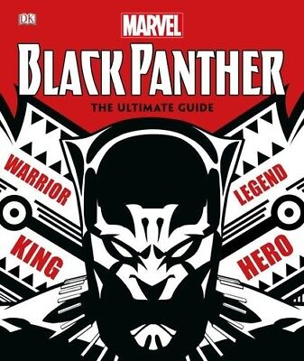 Marvel Black Panther: The Ultimate Guide [New Book] Graphic Novel, - Ultimate Black Panther