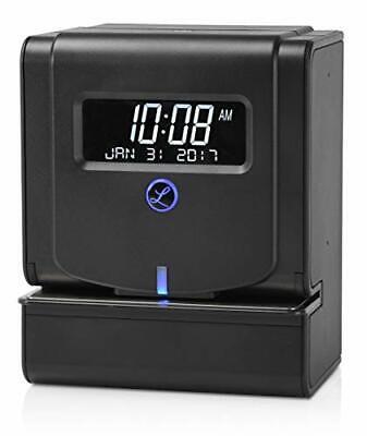 Lathem Heavy Duty Maintenancefree Thermal Print Time Clock 2100hd 9.8 X 6 X 8