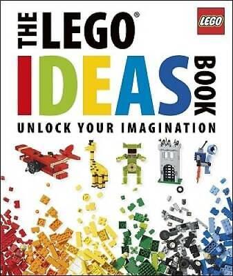 The Lego Ideas Book: Unlock Your Imagination - Hardcover - GOOD