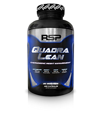 RSP QuadraLean Thermogenic Fat Burner for Men & Women, Weigh