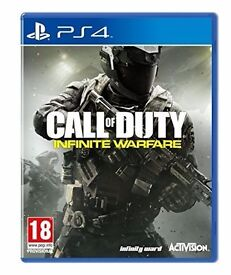 Call Of Duty: Infinite Warfare Standard Edition w/Extra Content and Pin Badges(Packed Brand New PS4)