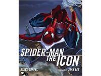 spiderman the ikon hardback book