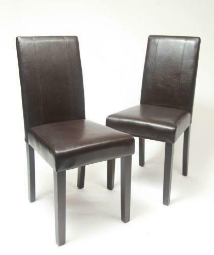 Leather Dining Chairs eBay : 3 from www.ebay.com size 421 x 500 jpeg 14kB