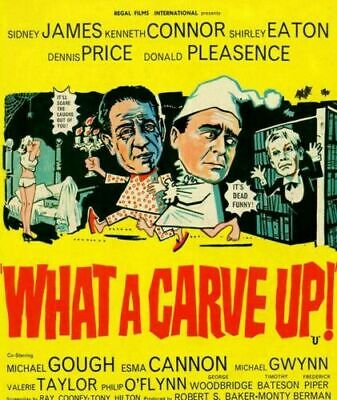 What A Carve Up DVD 1961 Sid James Kenneth Conner Shirley Eaton Donald Pleasence