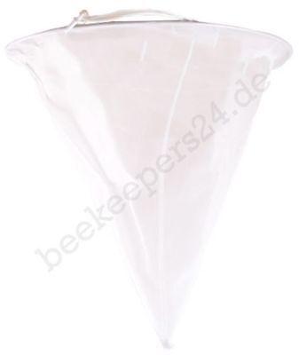 Nylon-Spitzsieb extra fein 0,2 qmm Maschen, Honig-Sieb, Feinsieb, Honigernte