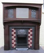 Art Nouveau Fire Surround