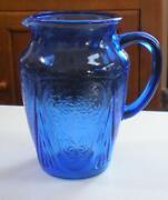 Blue Royal Lace Glass