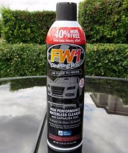 FW1 HIGH PERFORMANCE CLEANING WAX Shine Your Car Boat Caravan Clarkson Wanneroo Area Preview