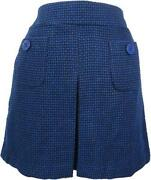 Tweed A Line Skirt