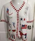 White Women's Quacker Factory Sweaters
