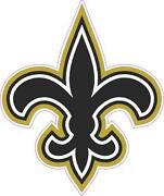 New Orleans Saints Decal