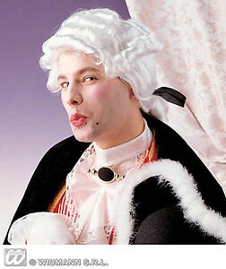MENS-CASANOVA-PIMPERNELL-GEORGIAN-ROYAL-SERVANT-WHITE-FANCY-DRESS-PERIOD-WIG-NEW